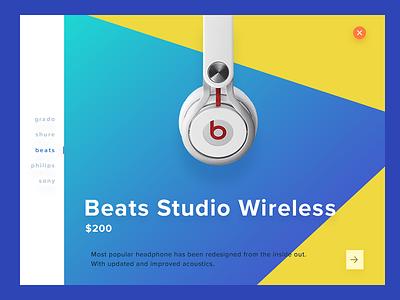 Product Banner - Freebie music navigation cart minimal web product shopping banner freebie psd