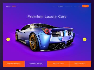 Day 02   Landing Page - Freebie luxury kit freebie psd portal web rental landing page car website