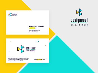 DesignBoat Branding startup company mobile ux design studio ui studio logo guidelines stationery business card branding
