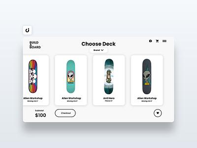 🛹 Skateboard Web Design hire follow like ecommerce designer site infadev concept website design