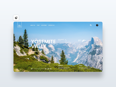 🏔 Yosemite Web Design hire follow like ecommerce designer site infadev concept website design