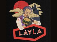 Layla Halloween T Shirt