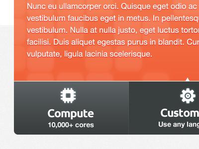 PiCloud Preview ui web button orange