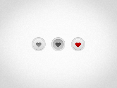 Favourite Buttons favourite button ui ux favorite ipad webapp web app
