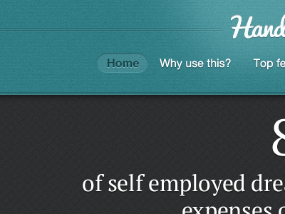 Header for website header ui menu texture type blue