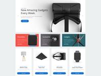 Electronics Shop Page