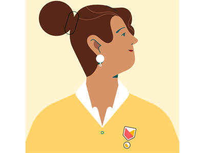 Host airbnb design inspiration video character design photoshop character styleframe illustration