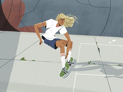 Skater 1/6 💥 skater design inspiration character design photoshop character styleframe illustration
