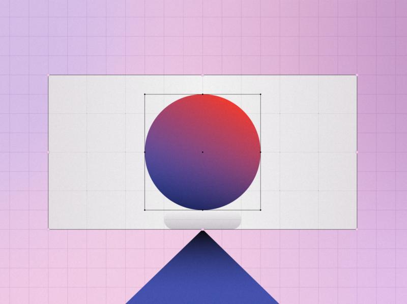 SOM triangle branding recent geometric shapes design vector styleframe illustration