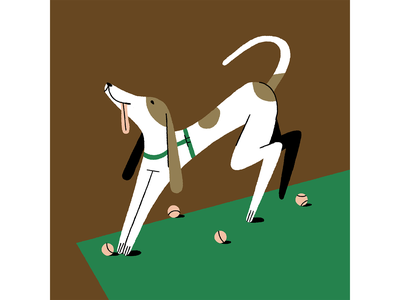 Woof Woof inspiration photoshop illustration dog