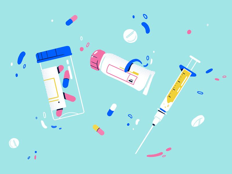 Medicines 💊 medicines photoshop design video styleframe illustration
