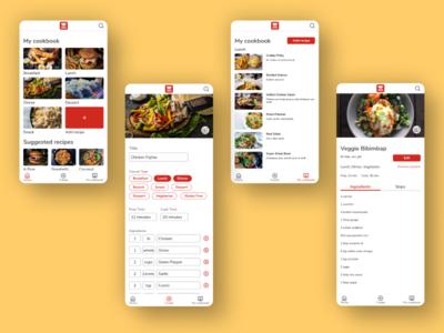 MyDish Recipe App food and drink food app food recipe app recipes recipe ux uxdesign uiux ui design ux  ui uxui uidesign ui  ux mobile app design mobile design mobile app mobile ui ux design ui