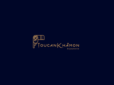 toucankamon - logo challenge identity design logo branding vector