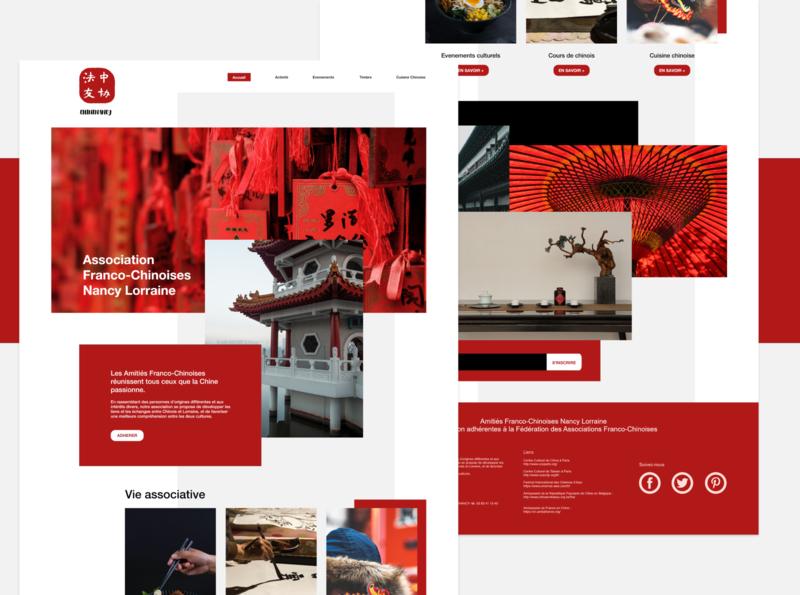 Webdesign 3.0 Chinenancy ux ui website design webdesign design