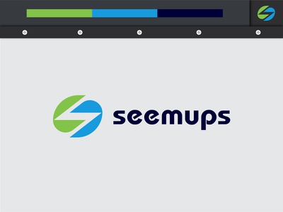 seemups logo design