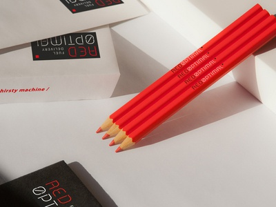 Red Optimal / Stationery