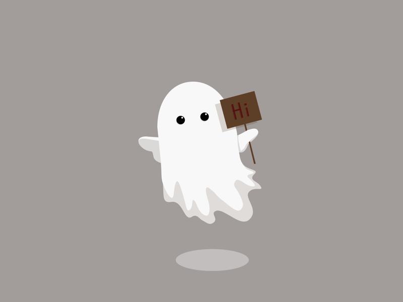 Ghost illustration digitalart ghost