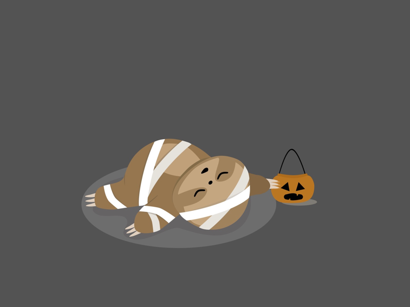 Spooky sloth
