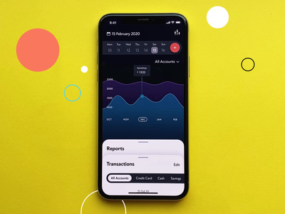 Finance Tracker App Interactions