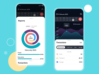 Finance App Interactions