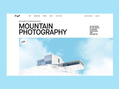 Lumen museum webdesign tubik