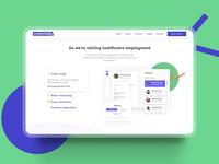 Credentially Website Design