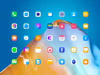Interface Icons for HUAWEI EMUI 10 mobile design graphics interface icons icons design icon design android huawei icon set icon pack icons user interface mobile user experience design studio interaction interface ui ux graphic design design