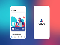 Uplyfe Brand Identity Design mobile motion graphic motion design identity design brand identity brand design illustration logo animation logo design logo branding animation user experience interaction design studio interface ui ux graphic design design