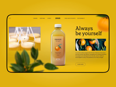 Juice Brand Website marketing healthy life soft drink drinks beverages juice web animation website design website web design animation web user experience interaction design studio interface ui ux graphic design design