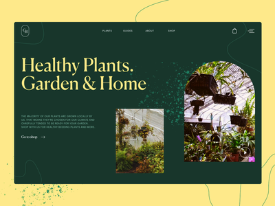 Gardening Company Website web interface web page web marketing website design website greenhouse landscape design gardening garden plants web design web user experience interaction design studio interface ui ux graphic design design