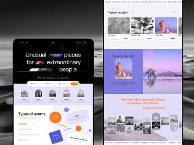 Booking Service Web Design user experience design website design website booking travel web design web user experience interaction design studio interface ui ux graphic design design