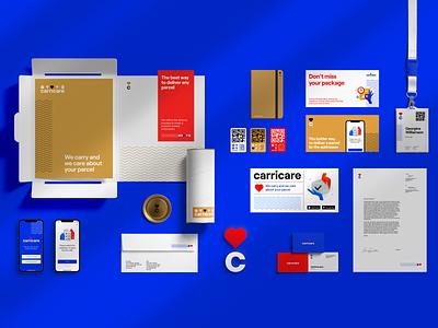 Carricare Brand Identity marketing brand design identity design identity illustration branding logo design studio ui ux graphic design design