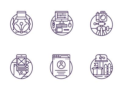 Tubik Website Icons