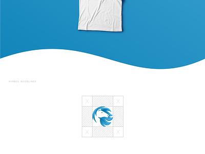 Horsy Logo icon graphic design gradient horse animation identity illustration branding logo design
