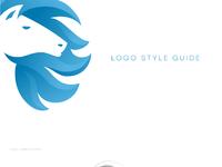 Horsy logo style guide tubik studio