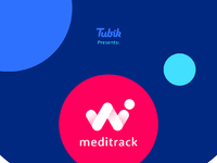 Meditrack brand guide tubik studio design