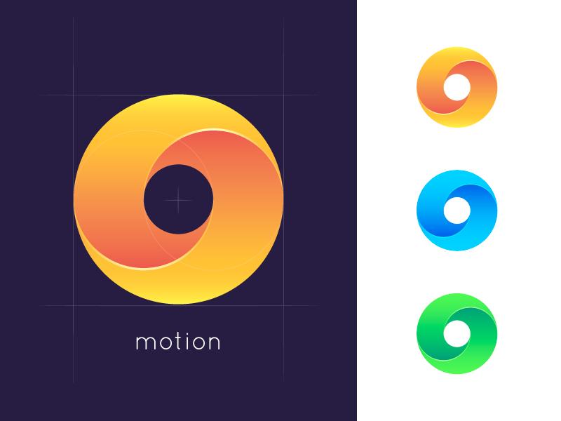 Motion Logo brand guide identity branding adobe illustrator design studio icon graphic design illustration design logo