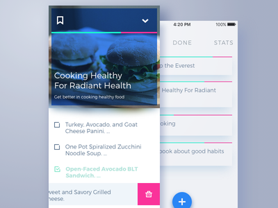 To-Do List Concept design studio iphone task manager to-do list interface ux ui mobile app design