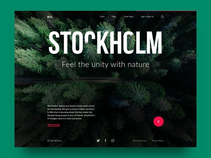 Big city guide stockholm tubik