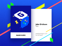 Game Guru Business Card