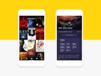 Cinema app ui design tubik