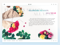 Florist E-Commerce Website
