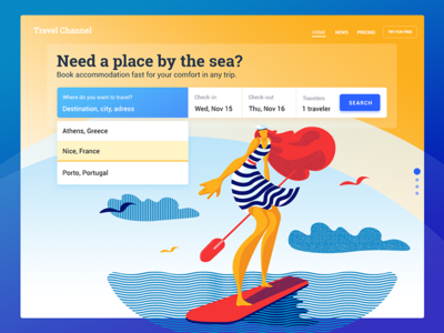 Booking Service UI