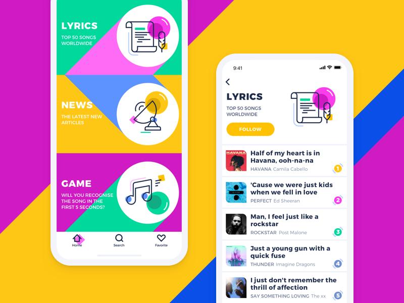 Music News App
