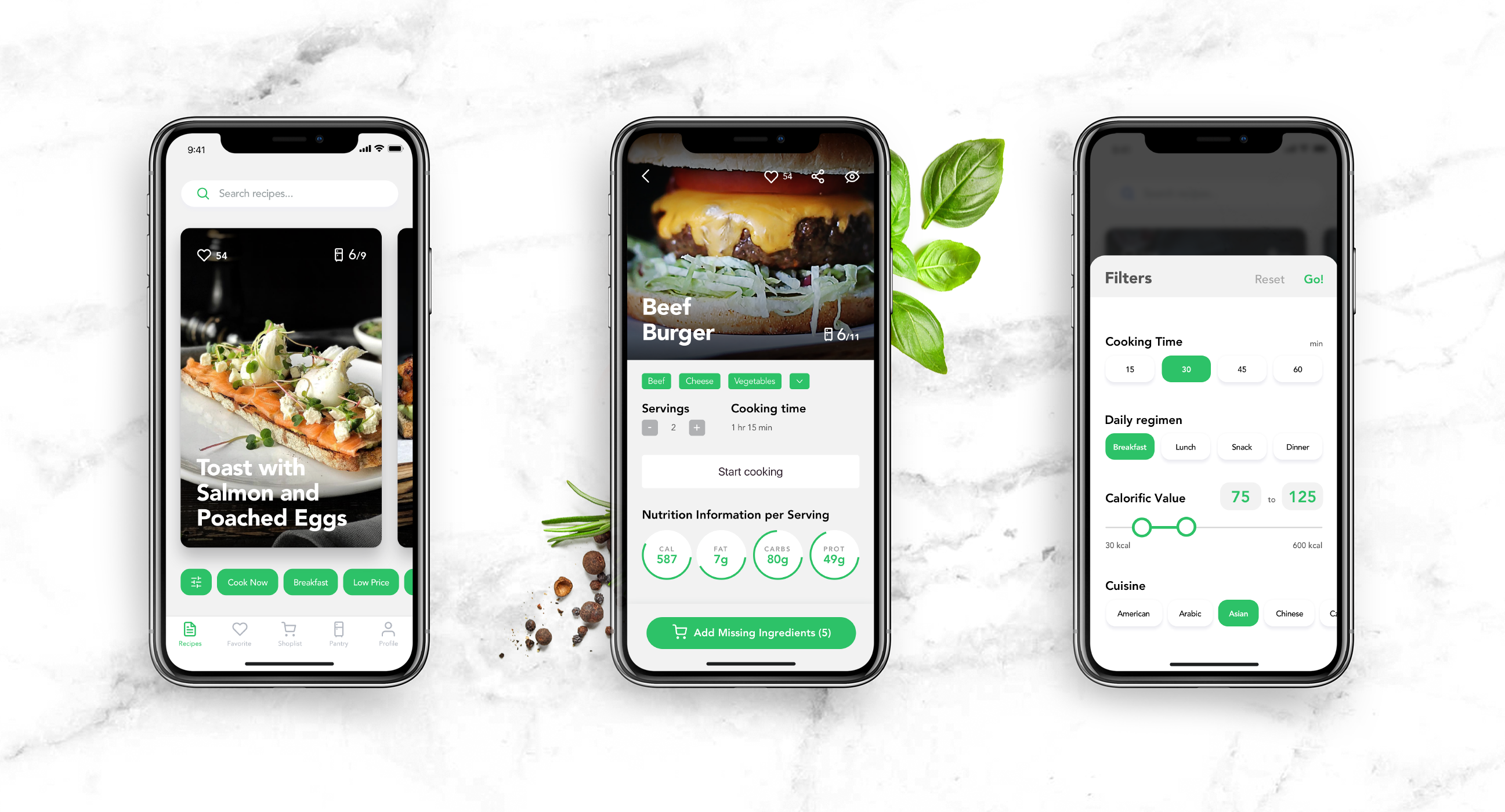recipes app react native