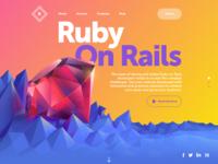 Tubik ruby solutions website