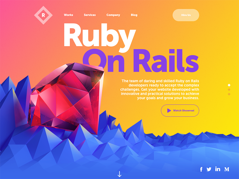 Ruby solutions website 800x600