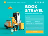 Booking service website ui design tubik