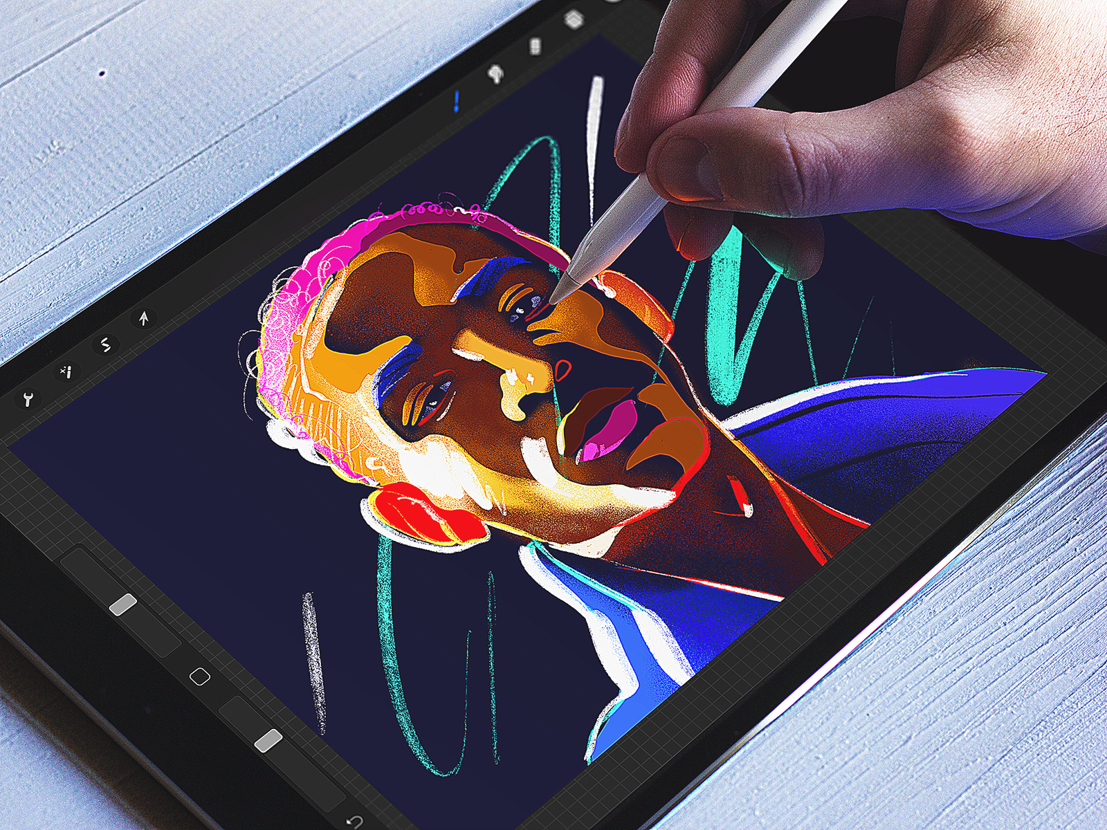 Illustrations made with #Procreate Roundup