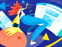 The Visionary Blog Illustration
